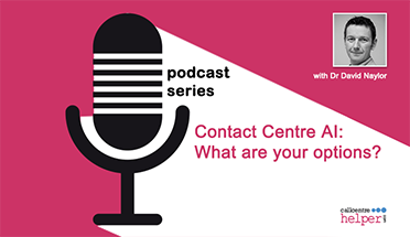 Contact Centre AI: What are your options?